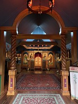 Completed iconostasis